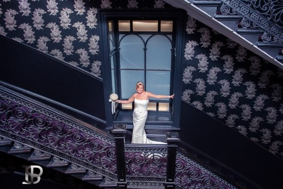 ian-scrimgeour-photography-scottish-dundee-fife-perth-wedding-photographer-bride-staircase