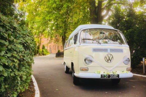 the-craigie-hotel-scottish-edinburgh-wedding-venue-camper-van-bridal-car