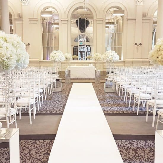 ivory-tower-scottish-glasgow-wedding-decor-hire-flowers-venue-supplier-directory-aisle-floral