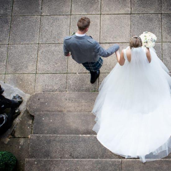 Corona Photographic-scottish-stirling-wedding-photographer-couple-veil