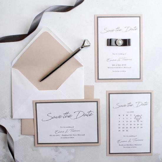 Save the Date cards-scottish-wedding-stationery