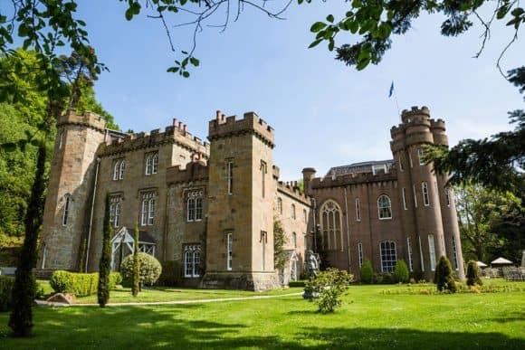 Wedding venue scottish castle