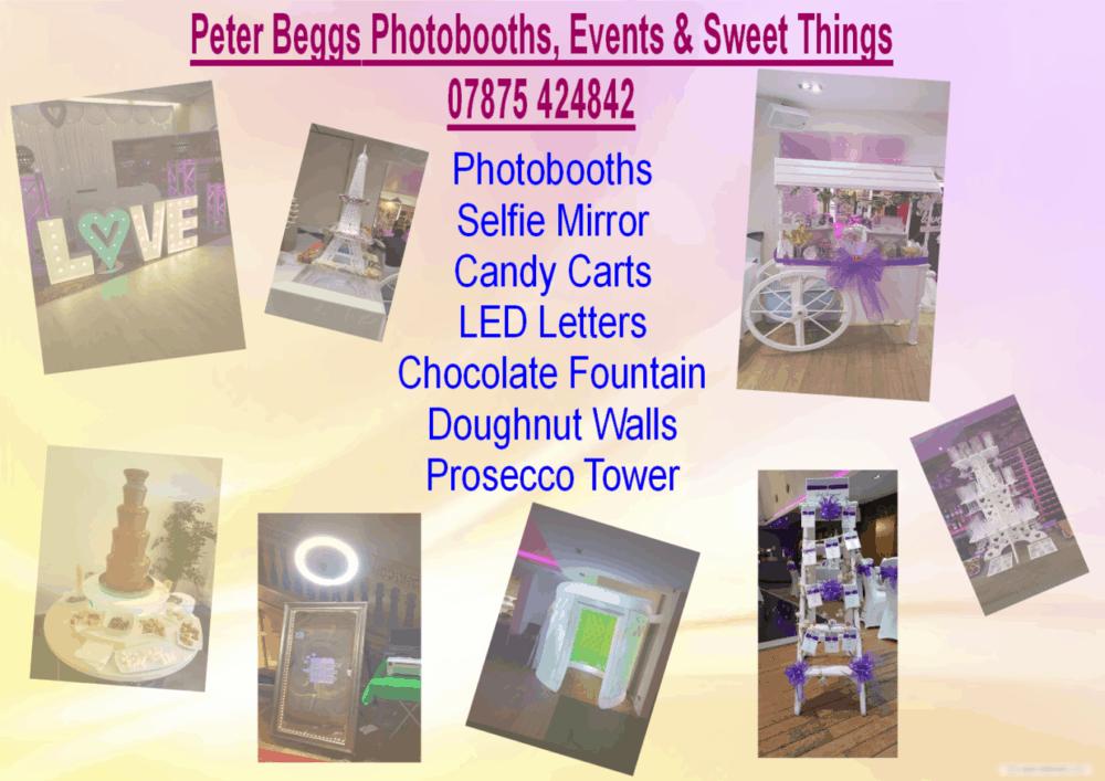 photobooth sweet things glasgow edinburgh wedding scottish