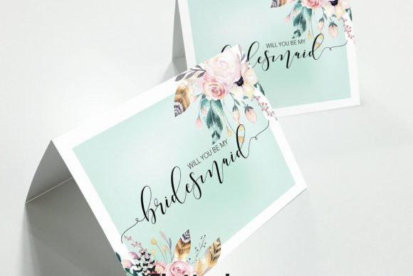 scottish-wedding-stationery-flutterbreeze-bridesmaids-cards