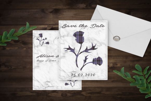 gingerandspice-scottish-wedding-stationery-thistle-tartan