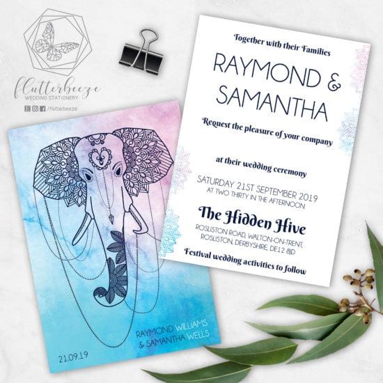 scottish-wedding-stationery-flutterbreeze-mandala-elephant