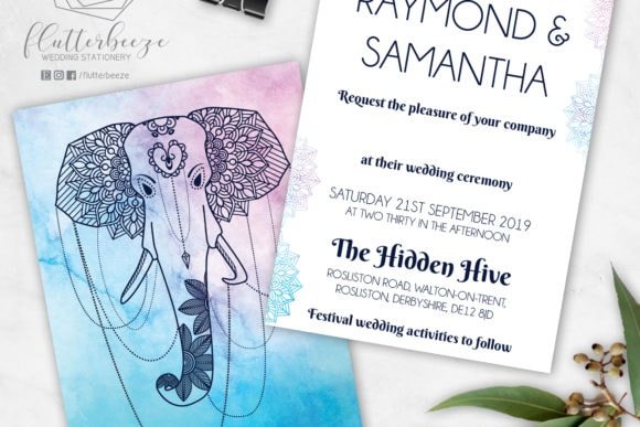 scottish-wedding-stationery-flutterbreeze-mandala-elephant