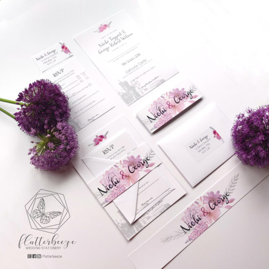 scottish-wedding-stationery-flutterbreeze-mauve-belly-band-set