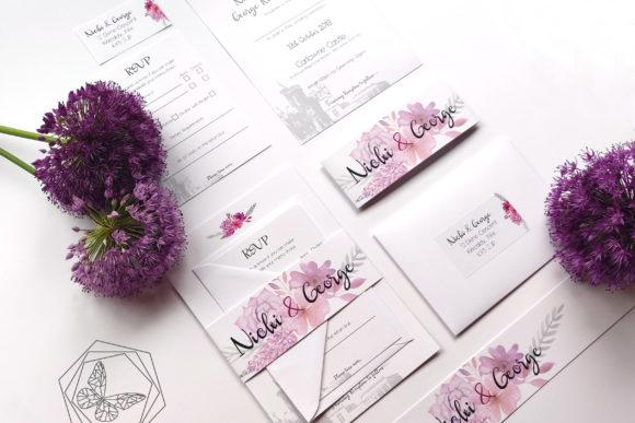 scottish-wedding-stationery-flutterbreeze-mauve-belly-band-set