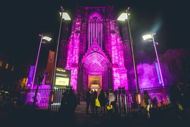 10 of the best wedding venues in Edinburgh | The Hub | Royal Mile | Scottish City Centre Church