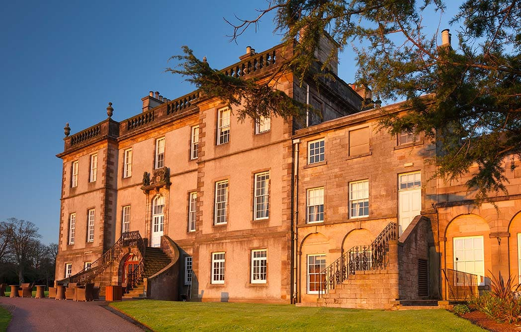 top-best-edinburgh-wedding-venues | Scottish Country House