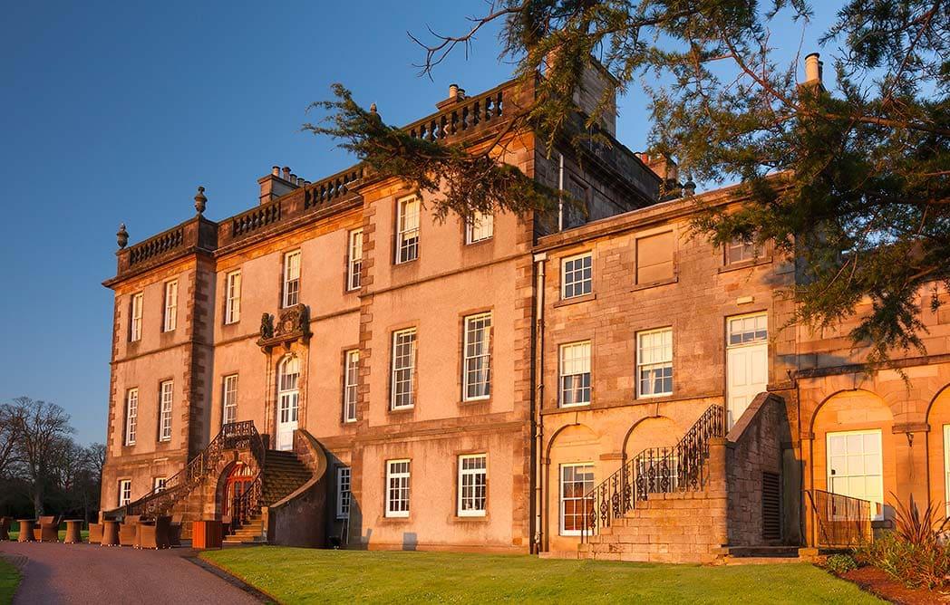 top-best-edinburgh-wedding-venues | Scottish Country House