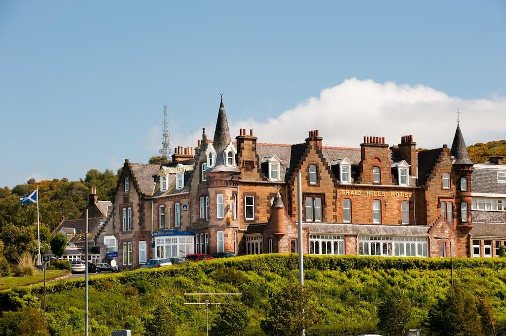 10 of the best wedding venues in Edinburgh | Braid Hills Hotel | Scottish Castle