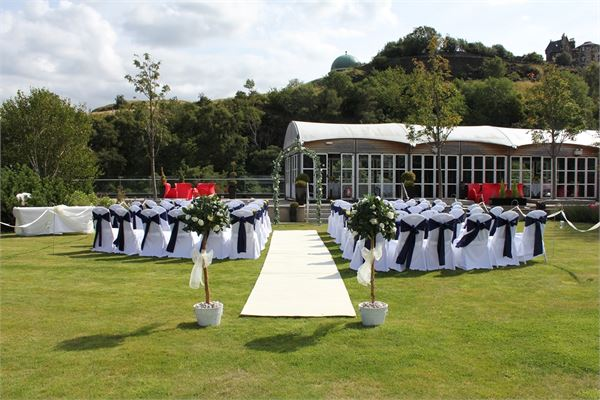10 of the best wedding venues in Edinburgh | Glasshouse Hotel | Scottish City Centre Gardens