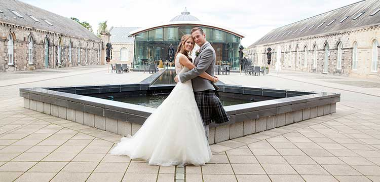 10 of the best wedding venues in Edinburgh | Eskmills Venue | Scottish Rustic Barn