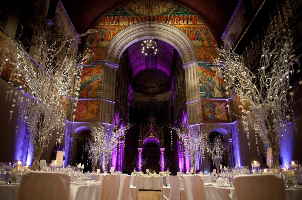 10 of the best wedding venues in Edinburgh | Mansfield Traquair | Scottish City Centre Church