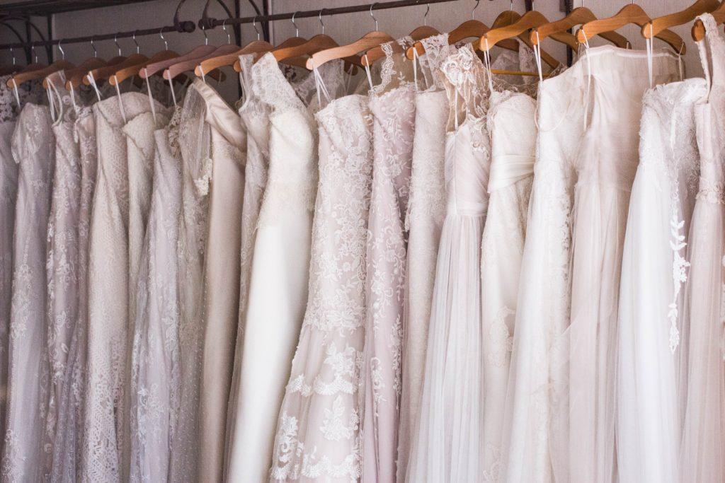 wedding dress shopping venue bridal shop