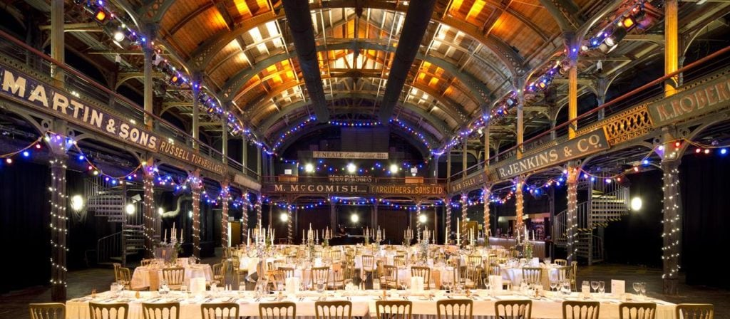15 of the best wedding venues in Glasgow | Old-Fruitmarket-Glasgow-Historic-Landmark-City-Centre-Scottish-Wedding-Venue