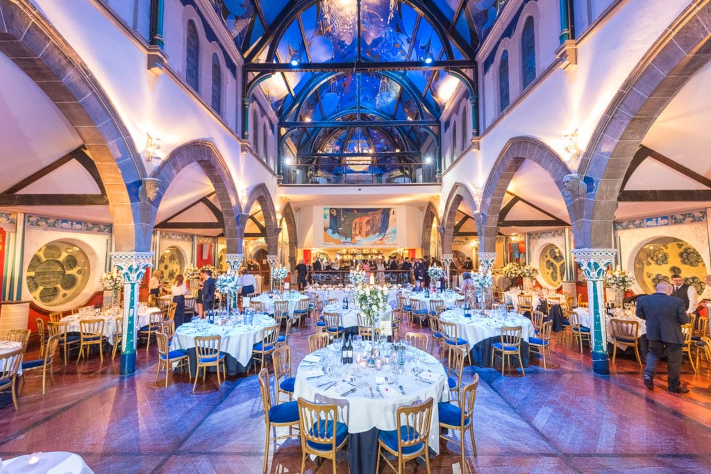 15 of the best wedding venues in Glasgow| Oran-Mor-Historic-Church-Landmark-West-End-Glasgow-Scottish-Wedding-Venue