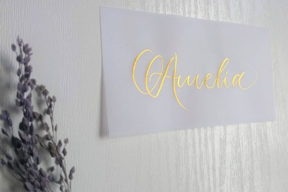 Juno-Calligraphy-Scottish-Wedding-Stationery-Gold on Vellum