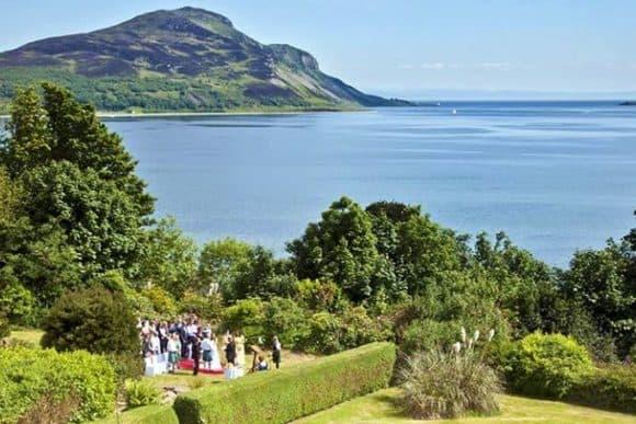 the-arran-lodge-scottish-isle-of-arran-wedding-venue-sea-view