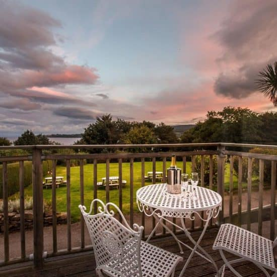 the-arran-lodge-scottish-isle-of-arran-wedding-venue-sea-view-balcony-terrace