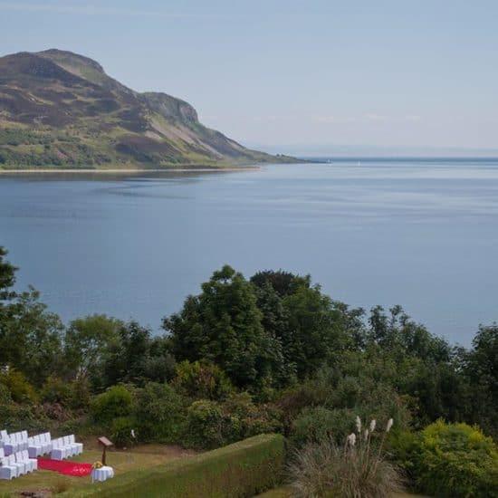 the-arran-lodge-scottish-isle-of-arran-wedding-venue-sea-view-outdoor-ceremony